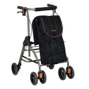 ボンベが搭載可能な歩行車